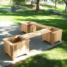 planter boxes made from composite decking ,all kind of wpc flower box #diy #flower #box #ideas #park #wpc
