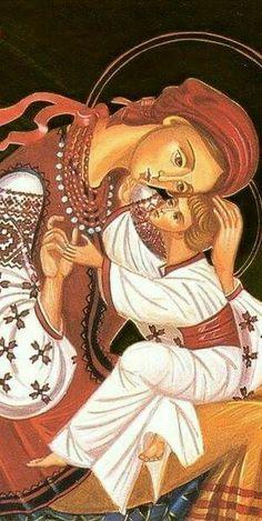 Byzantine Icons, Religious Art, Beautiful Flowers, Anatomy, Catholic, Angels, Spirituality, Anime, Architecture