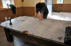 Homemade pool table plans Building your own pool table is a rewarding project You can build a quality hardwood table Pins about DIY