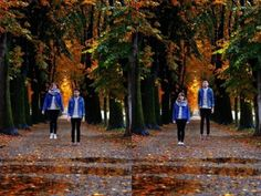 Double portret by Silvia Sala en Freddy Viera