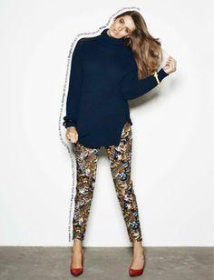 robyn lawley curves5 Robyn Lawley Wears Off Duty Style in Cosmopolitan Australia Spread