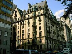 The Dakota apartment building in New York City designed by architect Henry Janeway Hardenbergh, The Dakota Building was so far uptown when it was built that it was said it might as well be in the Dakota Territory Upper West Side, Romantic Homes, Most Romantic, Romantic Places, John Lennon, Central Park, Charming House, Weird Facts, Crazy Facts