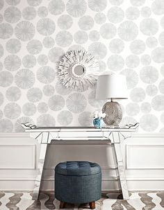 BW22501 Wallpaper Option- Marie's Home Office