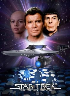 Star Trek: The Motion Picture (1979). William Shatner, Leonard Nimoy, DeForest Kelley. Sci-fi | Action | Adventure.