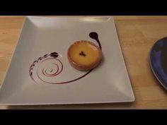 El emplatado de salsas según su consistencia - CookStorming - YouTube