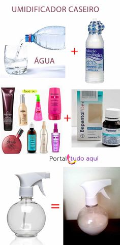 receita-de-umidicador-caseiro-para-cachos-volume Natural Hair Care, Natural Hair Styles, Look Con Short, Bad Hair Day, How To Make Hair, Hair Health, Hair Looks, Healthy Hair, Hair And Nails