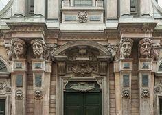 Milano, via San Raffaele, chiesa di San Raffaele (Pellegrino Tibaldi, Galeazzo Alessi, 1582) - stile manierismo
