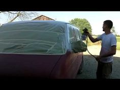 How to paint your own car! - YouTube