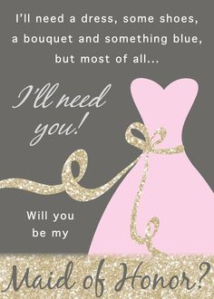 Will You Be My Bridesmaid / Maid of Honor / by StacieOBrienDesigns