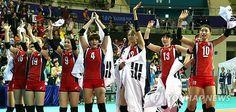 Michel : -아시안게임-<배구>한국 여자, 중국 누르고 20년 만에 금메달(종합2보)