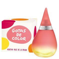 Agatha Ruiz de la Prada Perfume Gotas de Color EDT 100 ml LUJO mujer  $13990