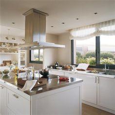 Cocinas en blanco: luz, amplitud y belleza · ElMueble.com · Cocinas y baños