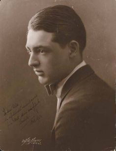 Cary Grant, in his youth...