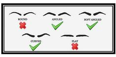 Eyebrows For Square Face Shape