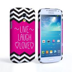Samsung Galaxy S4 Mini Live Laugh Love Heart Case #Live #Laugh #Love #HotPink #Pink #Black #White #ZigZag #Pattern #Heart #Drawn #Valentine #Love #ValentinesDay #Gift #Present #Samsung #Galaxy #S4Mini #SamsungS4Mini #GalaxyS4Mini #Case #Cover #HardCase #PhoneCover