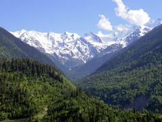 Caucasus Mountains The mountains are simply beautiful and peaceful. Makes me want go camping. Find the best camping gear at http://todayscampinggear.com