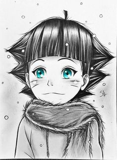Naruto Uzumaki, Naruto Art, Anime Naruto, Manga Anime, Naruhina, Hinata, Bff Drawings, Naruto Drawings, Cool Drawings