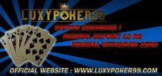 Mengenal agen judi ceme online indonesia terpercaya yaitu luxypoker99 memberikan pelayanan terbaik untuk anda main judi ceme online indonesia.