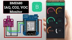Iot Projects, Temperature Measurement, Relative Humidity, Pcb Board, Indoor Air Quality, Monitor, Coding, Programming