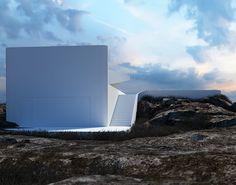 Architectural Concepts by Roman Vlasov   Inspiration Grid   Design Inspiration