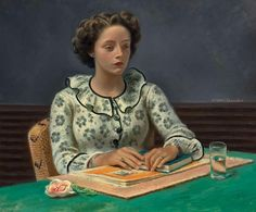 pintura de Eugene Edward Speicher (1883-1962)