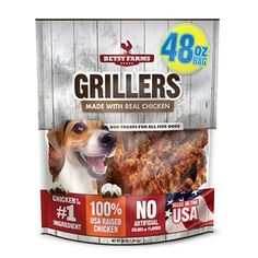 Betsy Farms Grillers Dog Treats (48 oz.) (pack of 6) -- Click on the image for additional details. (This is an affiliate link and I receive a commission for the sales)