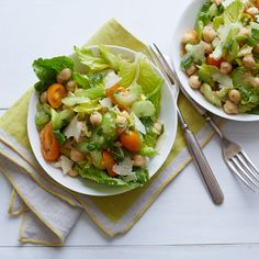Marinated Celery, Celery Leaf and Chickpea Salad   Recipes   Weight Watchers