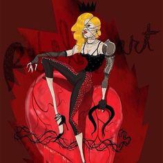 #Madonna #LivingForLove #rebelheart #drawing by @augustramirez77