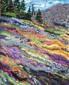 use Van Gough paintings for patterns