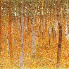 lilacsinthedooryard:  Gustav Klimt (Austria 1862-1918) Beech...