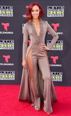 "Natalie La Rose from 2015 Latin American Music Awards: Red Carpet Arrivals  The ""Somebody"" singer is gearing up to hit the stage for what is sure to be a fierce performance."