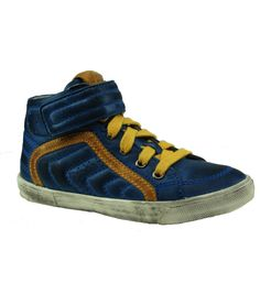 Speciale Braqeez Kids Jongens sneaker (Blauw) Sneakers van het merk Braqeez Kids voor Kinder . Uitgevoerd in Meerdere kleuren gemaakt van Leer|leer.