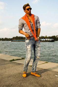 Zara Shirt, Michael Kors Watch, Gucci Loafers