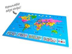 World Map Play Mat (WORLDMAT12)