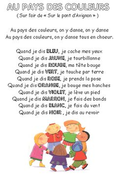 Converteert: leer in lied! Comptinettes: het leren van in lied! French Poems, Core French, French Classroom, French Immersion, French Lessons, Teaching French, Chant, Learning Colors, Kids Songs