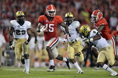 UGA vs. Vandy....Tonight #MarlonBrown was amazing! Another great #SEC win! www.ajc.com