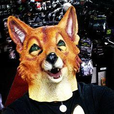 What does the fox say? #halloween #halloweendecor #halloweendecorations #spirit #spirithalloweenstore #foxmask