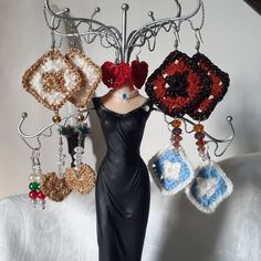 Coming to my Etsy shop in November ( and some may sneak in before then! My Works, Crochet Earrings, November, My Etsy Shop, Projects, Shopping, Jewelry, Fashion, November Born