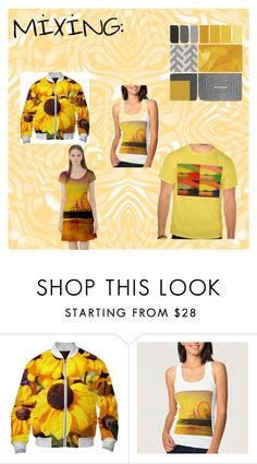 """Mixing: YELLOW"" by stine1online ❤ liked on Polyvore"