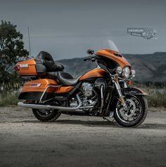 Harley-Davidson Ultra Limited 2015 http://www.mcnews.com.au/harley-davidson-2015-model-unveil/