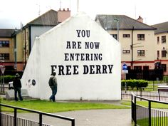 Derry, Ireland by Angie Purcell