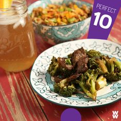 Pair the following Beef and Veggie Stir Fry with Veggie Fried Rice and a 2 PointsPlus value sweet tea for a deliciously filling 10 PointsPlus value meal! Beef and Veggie Stir Fry Skip the takeout and...