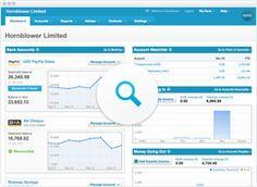 Online Accounting Software Dashboard | Xero