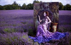 Portrait Of A Princess by Kirsty Mitchell