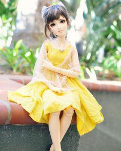 Naomi is so cute ✨ #bjd #hybridbjd #abjd #doll #linglan #oasisdoll #oasisdolllinglan #culur #culurfaceups
