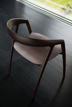 d6567ff73da dining chair is sculptured in solid wood