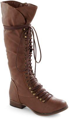 32a01057f0d Follow The Cedar Boot in Medium Brown Steampunk Shoes