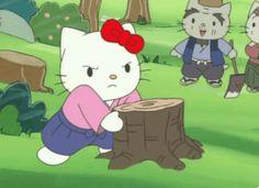Hello Kitty Cartoon, Random Gif, Kitty Images, Best Of Tumblr, Sanrio Characters, Cute Memes, Little Twin Stars, Vintage Cartoon, Cartoon Shows