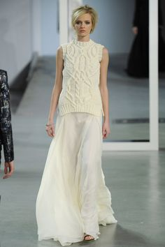 Chunky cables from Derek Lam