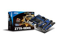 MSI Z77A-GD65 Motherboard